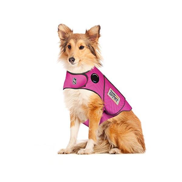 Thundershirt Sport Dog Anxiety Jacket, Fuchsia, Large
