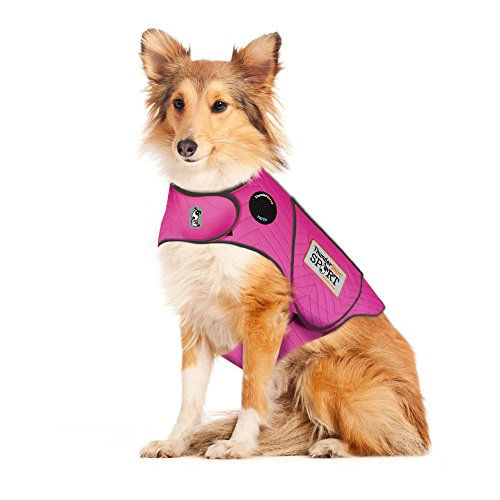 Thundershirt Sport Dog Anxiety Jacket, Fuchsia, (Best Cold Weather Dogs)