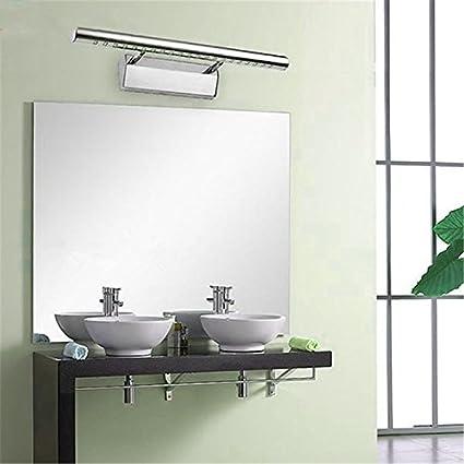 Acciaio INOX super Bright 7 W LED specchio luce camera da letto ...