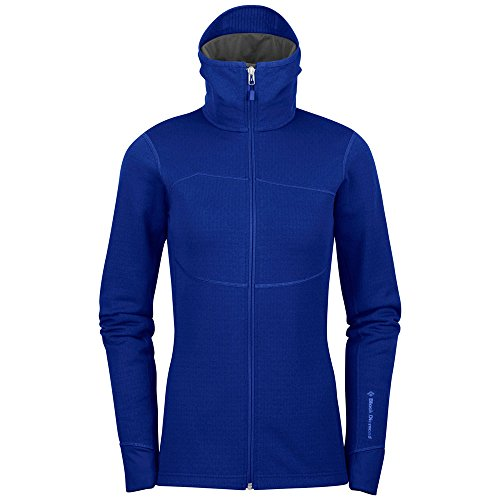 Black Diamond Fleece Jacket - Black Diamond Coefficient Ladies blue (Size: M) fleece jacket