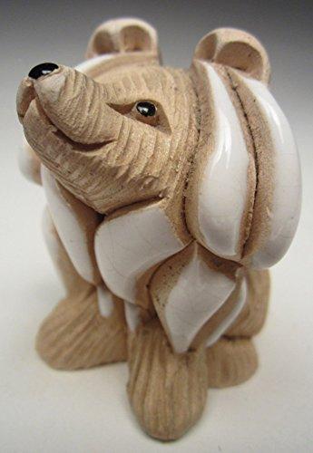 1995 Artesania Rinconada Collie Pup Dog Figurine #206