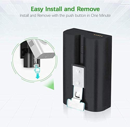 Replacement Battery Compatible with Ring Video Doorbell 2 Ring Spotlight Cam and Ring Stick Up Cam Ring Rechargeable Battery 2pack