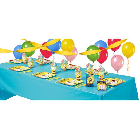 SpongeBob Party Supplies Basic Party Kit by Party America