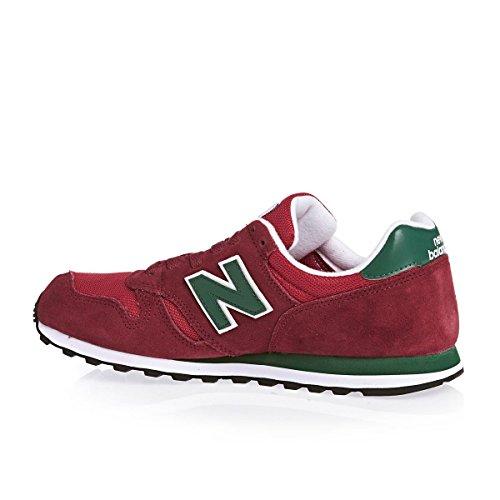 New Uomo 373 Balance Sneaker Rosso 41r4qTAW
