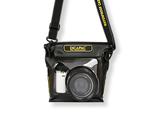 DiCAPac  WP-S3 High-End and Mirrorless Camera Series Waterproof Case (Dicapac Waterproof Dslr Camera Case Wp S10)