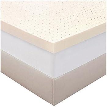 Amazon Com Authentic Comfort Biofresh 2inch Memory Foam
