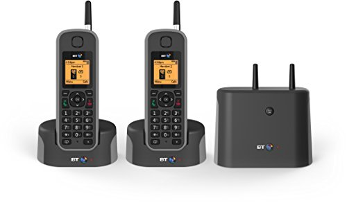 BT Elements 1 km range IP67 Rated Cordless Phone with Answering...