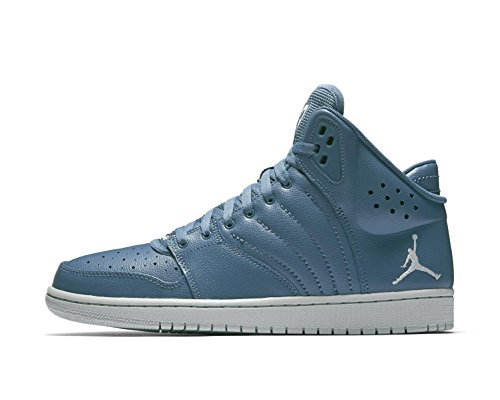 Nike Air Jordan 1 Flight 4 Mens Hi Top Basketball Trainers 820135 Sneakers Shoes (US 10, Ocean Fog Pure Platinum 400)