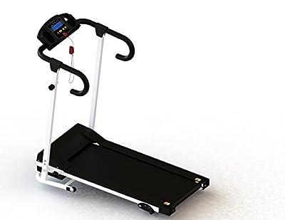 Mcombo 500W Folding Electric Motorized Treadmill Running Jogging Gym Power Machine 6400 (6400-0108Black)