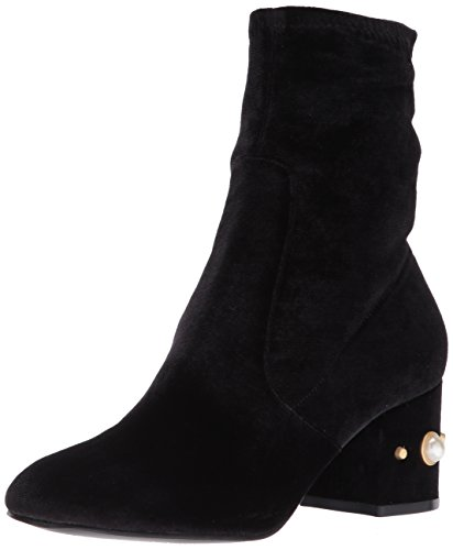 Ivanka Trump WoMen Previ Ankle Boot Black Velvet