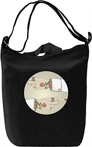Punk Hands Borsa Giornaliera Canvas Canvas Day Bag| 100% Premium Cotton Canvas| DTG Printing|