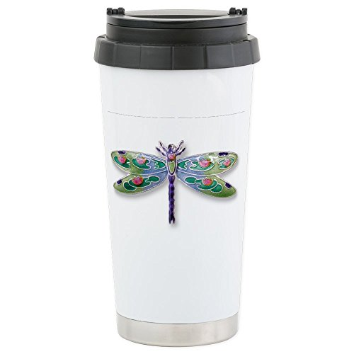 CafePress - Dragon Fly Stainless Steel Travel Mug - Stainles