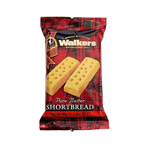 Walkers Shortbread Fingers (120) Individually Wrapped Biscuits