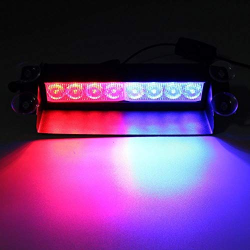 Auto Hub Waterproof LED Police Flashing Light for All Cars