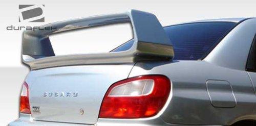 2002-2007 Subaru Impreza WRX STI 4DR Duraflex STI Look Wing Trunk Lid Spoiler - 1 (Wrx Sti Wing)