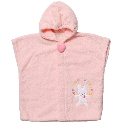 Yousei no mori fairy forest bus poncho pink / rabbit> YG-251 by Forest Yousei no mori fairy
