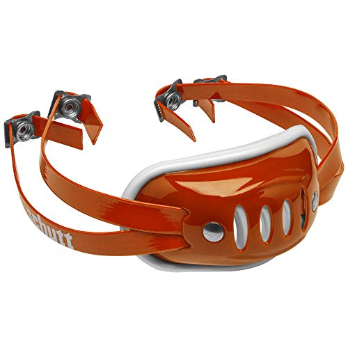 Schutt Sports SC-4 Hard Cup Chinstrap for Football Helmet, Burnt Orange, Youth