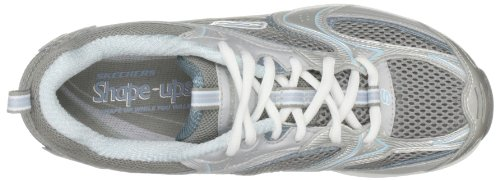 Baskets mode XF Accelerators ups femme BKSL Shape Argent 12320 Skechers Aq0Y4Y