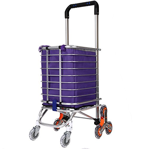 Asunflower Rolling Cart Kitchen Trolley 3 Tier Storage Shelf with Wheels Adjustable Service Cart for Office Bathroom