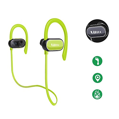 Stereo Earphone/Headsets with Mic for LG K10 (Green) - 4