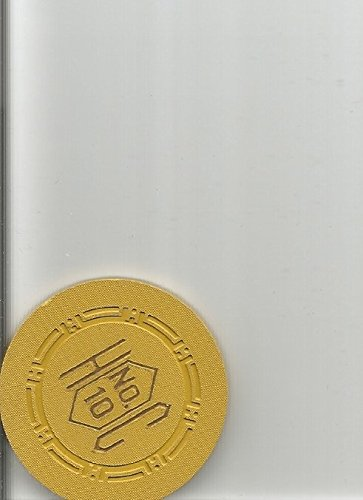 $1 harolds club roulette table 10 rare reno nevada casino chip ()