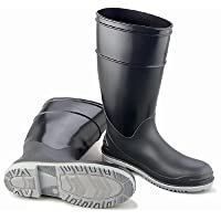 """Bata Shoe 89682-11 Onguard Industries Size 11 Goliath Black Polyblend Chemical Resistant Knee Boots with Power-Lug Outsole, Steel Toe and Removable Insole, 15.34 fl. oz, 1"""" x 11"""" x 1"""""""