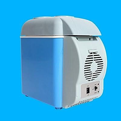 DEED Frigorífico del Coche Refrigerador Casero del Coche 7.5L Refrigerador Caliente Y Frío del Coche de la Caja Mini Refrigerador Puede Ser ...