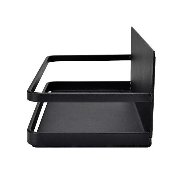 414bO2MABKL OIZEN Kühlschrank Regal Hängeregal für Kühlschrank Magnet Gewürzregal mit Ablage Küchenregal Küchen Organizer…