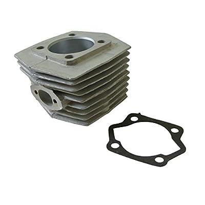 JRL 47mm Engine Barrel Cylinder Bore Fit 66cc 80cc 2 Stroke Motorised Motorized Bicycle: Automotive