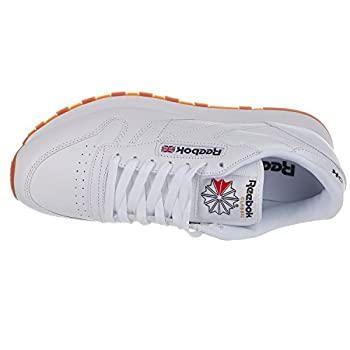 Reebok Men's Classic Leather Sneaker, Whitegum, 9 M Us 2