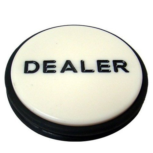 Brybelly, Casino Grade Poker Dealer Button Puck - Large 3 Inch Diameter! Model: GBUT-301