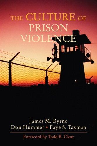 The Culture of Prison Violence