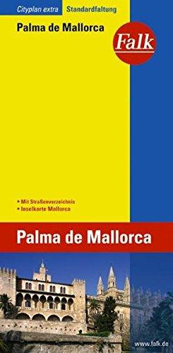 Falk Cityplan Extra Standardfaltung International Palma de Mallorca mit Inselkarte und mit Straßenverzeichnis