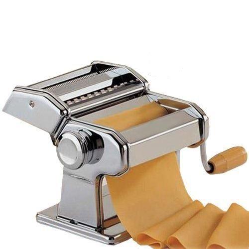 Generic Lasagne Spaghe e Cutter BN Stainless Steel Pasta Lasagne Spaghetti Tagliatelle Maker Machine Cutter Lasagne Spaghe BN Stainless St YC_AME2_150222_149