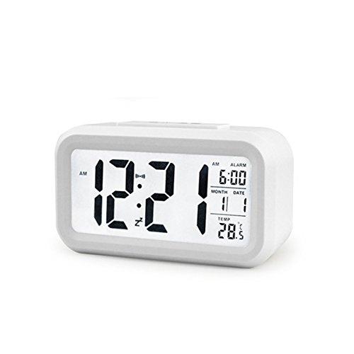 BOYON Alarm Clock, Smart Desk,Wake Up,Travel Clock,Light Sen