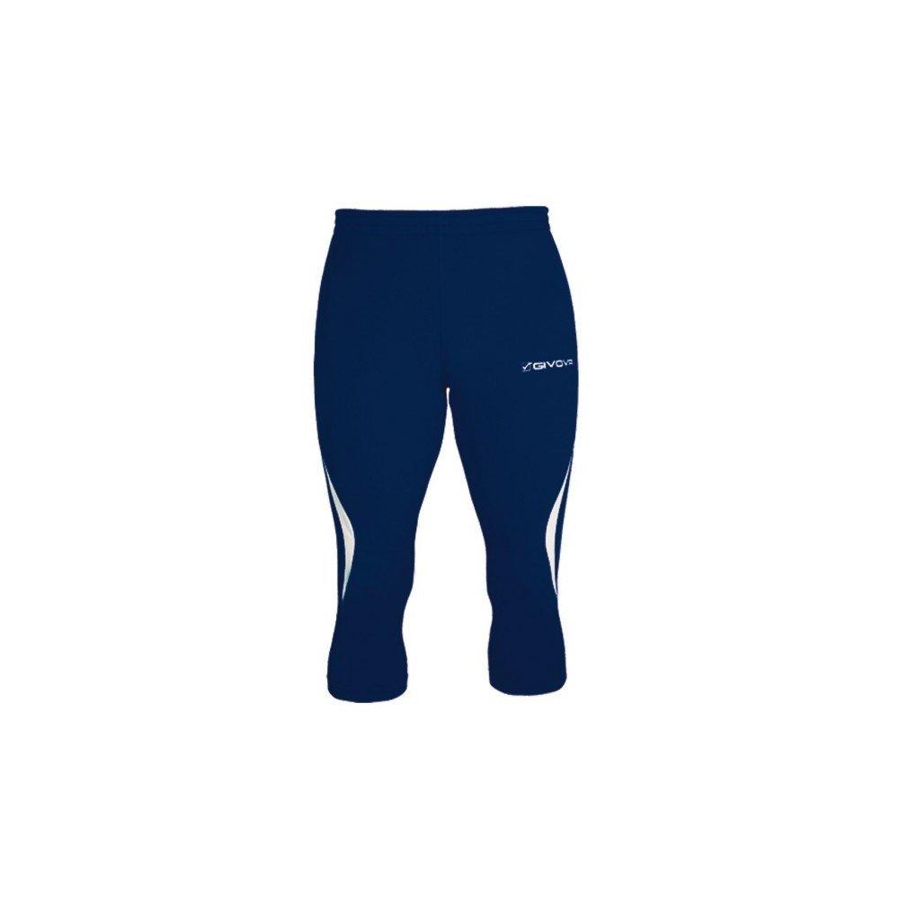 TALLA S. Givova, running pantalon de mujer, azul , S