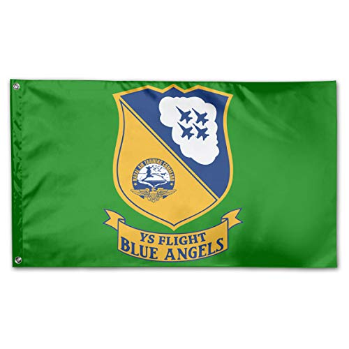 Blue Angels US Naval Flight Demonstration Squadron Yard Flags 3 X 5 in Indoor&Outdoor Decorative Home Fall Flags Holiday Decor