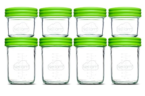 glass baby food storage jars - 6