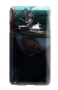 Cheap 9379318K35054357 For Galaxy Note 3 Tpu Phone Case Cover(kraken)