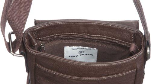 TOM TAILOR Acc JANO Überschlagtasche 11630 60 Unisex-Erwachsene Schultertaschen 20x21x10 cm (B x H x T) Braun (Braun 29) JY8pdnm