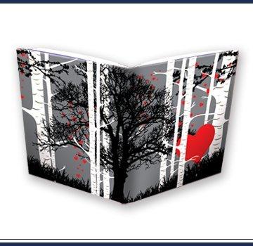 Extreme Book Sox - Jumbo Trees and Hearts