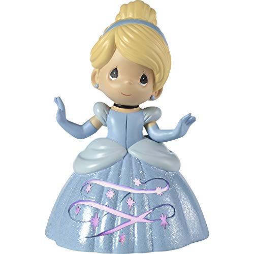 (Precious Moments Disney Showcase Cinderella LED 183473 Musical, One Size, Multi)