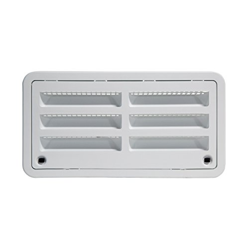 "RV Camper Trailer 20"" Dometic Refrigerator Side Wall Vent, WHITE 3109492.003"
