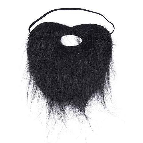 Asiproper Fake Moustache Artificial Beard Stick-on Tash Whiskers Dress Party Joke