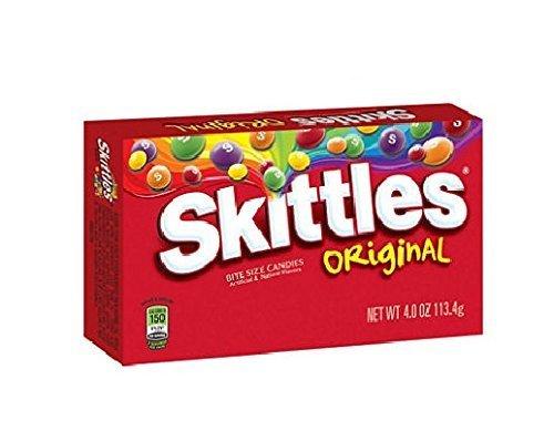 Skittles Original Theater Box - 4 oz. Box - 12 ct. by Skittles -