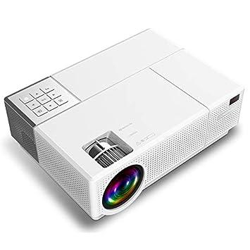 Cxky Proyector, 4000 lúmenes 1920 x 1080p Full HD proyector Smart ...
