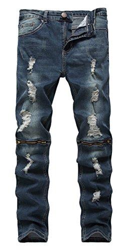 Denim Hipster Jeans - 6