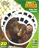 : Baby Zoo Animals Look & Learn ViewMaster 3 Reel Set