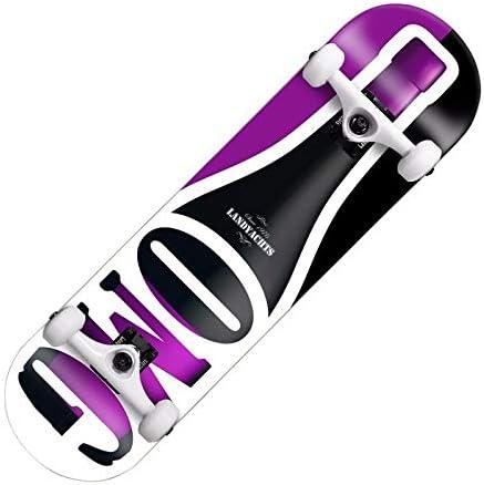 Cetengkeji スクーター、プロ用4輪スケートボード、競技アクション、大人用、ダブルカーブメープルスケートボード XO3