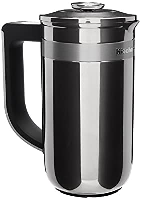 KitchenAid KCM0512SS Precision Press Coffee Maker, Stainless Steel